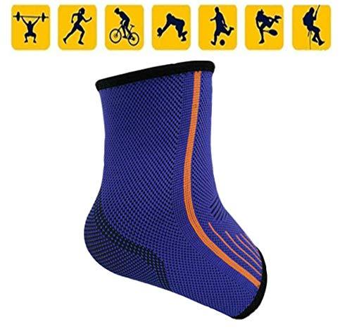 N /A QJYNS Tobillera de Soporte Fascitis Plantar Ideal Compresión del pie Calcetín Mangas para el Alivio del Dolor de la Artritis y Adecuado para el Deporte Tobilleras para Hombres y Mujeres
