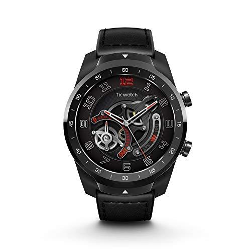 TicWatch E3 Smartwatch Wear OS de Google con Qualcomm Snapdragon Wear 4100 Platform Google Pay GPS Integrado Monitoreo de frecuencia cardíaca Seguimiento del sueño Gestión del estrés