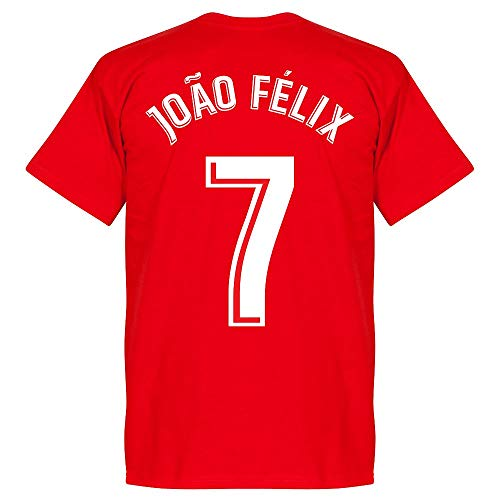 Atletico Madrid Joao Felix 7 Team - Camiseta, color rojo rojo S