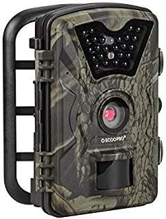 ECOOPRO Trail Camera 12MP 1080P HD Game Hunting Camera 65ft Infrared Night Vision,90°Detection Angle,24pcs 940nm IR LEDs,2.4