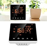 minifinker Termostato de Ahorro de energía Termostato de 16 A LCD para Diferentes demandas Seguro de Usar