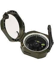 Svbony Sighting Compass con Inclinómetro para Senderismo Camping Supervivencia Marzo Agrimensores Silvicultores (Verde)