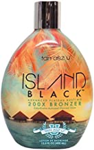 Island Black 200X Bronzer Tanning Lotion By Tan ASZ U