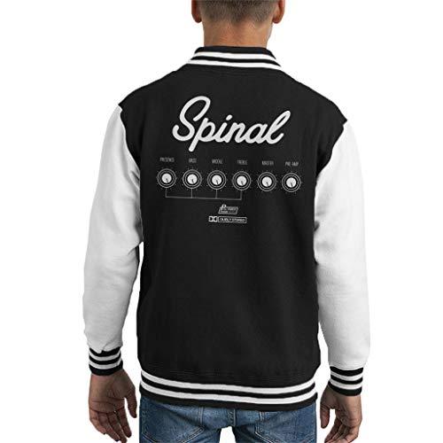 Cloud City 7 versterker die gaat tot 11 Dit is Spinal Tap Kid's Varsity Jacket