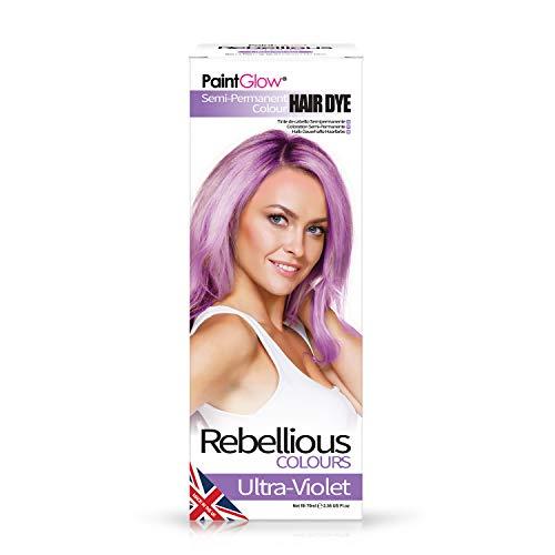 PaintGlow Semi-permanente Haarfarbe, Ultraviolett, 70 ml