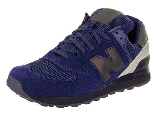 New Balance Jungen ML574-SEE-D Sneaker, blau, 40 EU