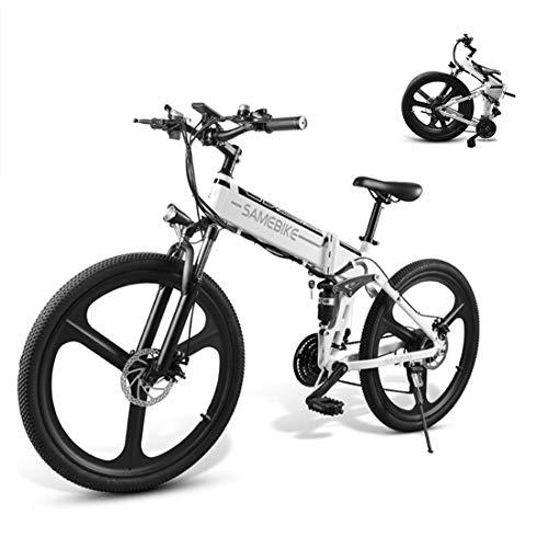"""CCDYLQ 26\"""" Faltbarer elektrisches Moped Fahrrad, Folding Elektro-Fahrräder für Erwachsene Fahrrad 350W Brushless MotorRiding, Profi-Speed Gear, LCD-Tachometer für Outdoor Casual,A"""