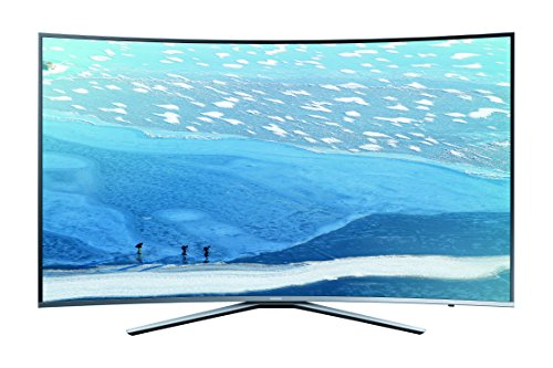 Samsung KU6509 108 cm (43 Zoll) Curved Fernseher (Ultra HD, Triple Tuner, Smart TV)