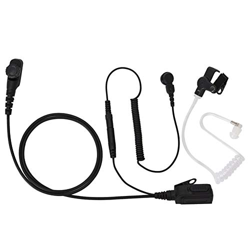 For Sale! Maxmartt Wireless Walkie-Talkie Headset Acoustic Tube Headphone Compatible with PD780