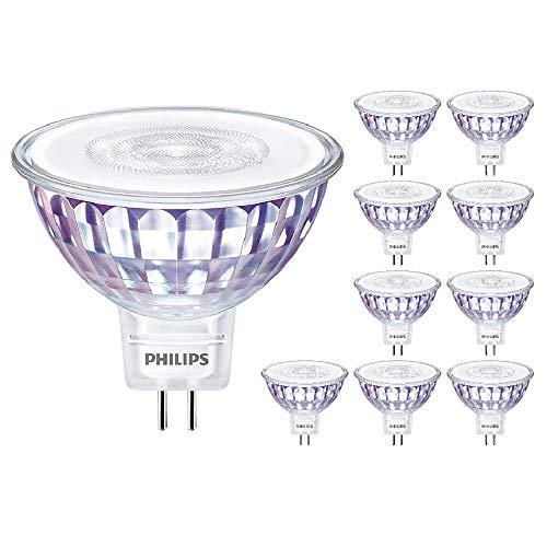 Philips Master LED MR16 LV GU5.3 Spot Lamp 7W (50W) regulable 2700k blanco cálido | ángulo de haz de 36° | 621 Lumen | 25000 horas | 80 CRI | 929001903402 | ambientador de aire promoción