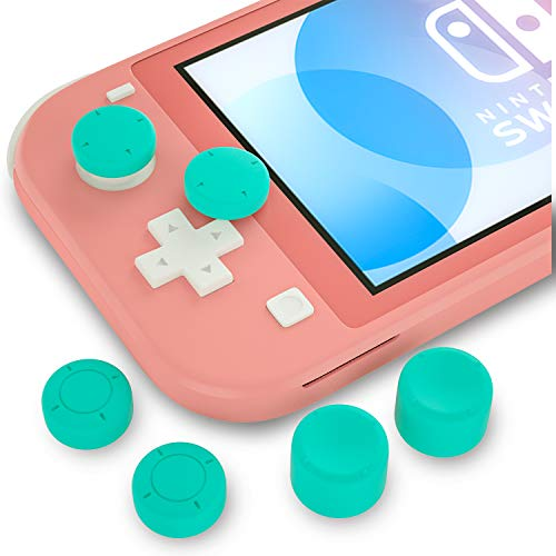 Thumb Grips for Nintendo Switch Lite, Joystick Caps for Nintendo Switch Lite - Turquoise