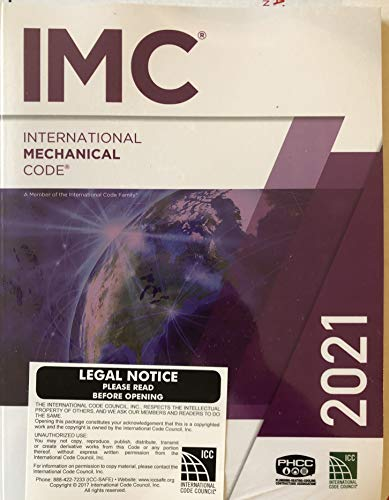 Compare Textbook Prices for International Mechanical Code 2021  ISBN 9781609839642 by International Code Council