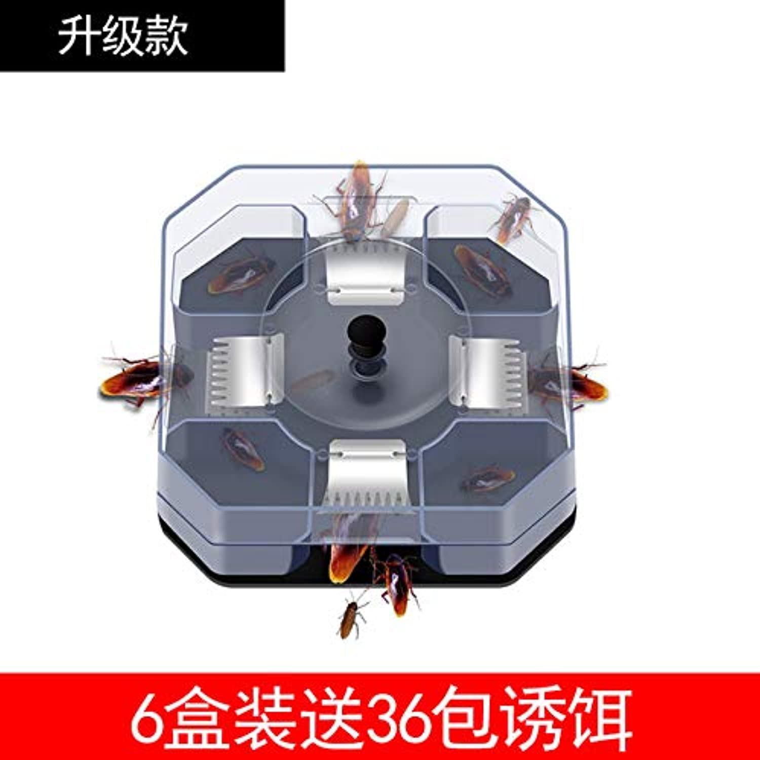 Cockroach Trap Fifth Upgrade Safe Efficient Anti Cockroaches Killer Plus Large Repeller No Pollute for Home Office Kitchen   36 Packets of