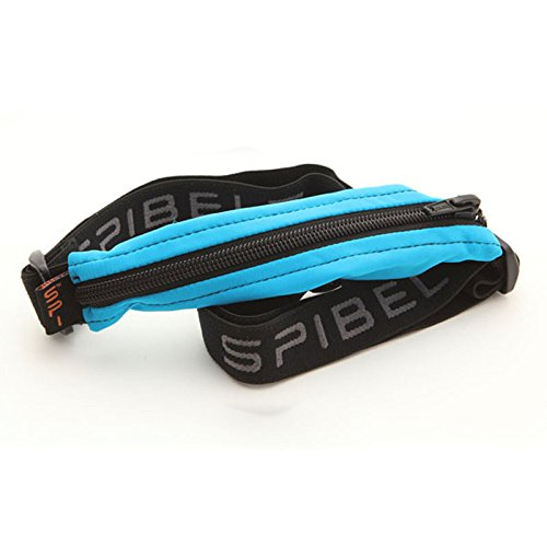 Spibelt Original Basic Turquoise with Black Zipper, Sac de Course Mixte, XL