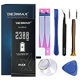 DEJIMAX 2300mAh Batteria più alto 34% per iPhone 6S (A1633 / A1688 / A1700), 2300mAh 6S Batteria Alta Capacità Ersatzakku mit Werkzeugsatz