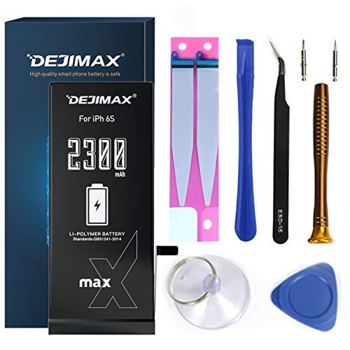 DEJIMAX 2300mAh Akku für iPhone 6S, 2300mAh Hohe Kapazität Li-Ionen Akku für 6S mit Werkzeugsatz