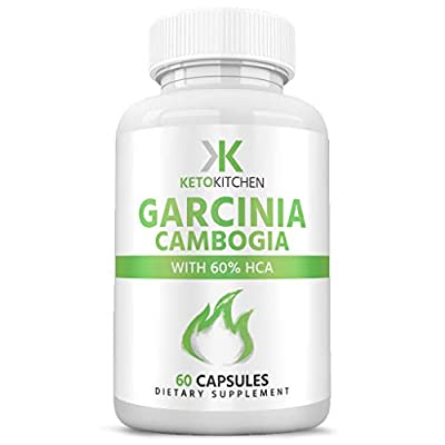 Pure Garcinia Cambogia Extract | Weight Loss Pills | Best Appetite Suppressant | Supports Weight Loss, Fat Burn & Suppresses Appetite | 60 Caps from Keto Kitchen