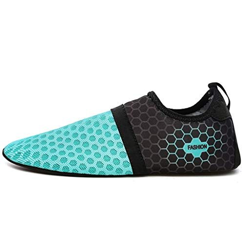 WXYPP Zapatos de Yoga Integral Integral de Suela Blanda para Hombres y Mujeres Zapatos de Playa al Aire Libre Calcetines De Agua (Color : Blue B, Size : 41/42EU)