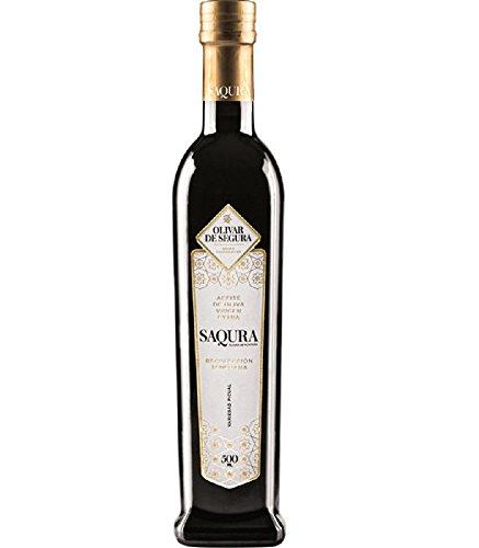 Saqura aceite de oliva virgen extra Recolección temprana - Premiado DO Sierra Segura