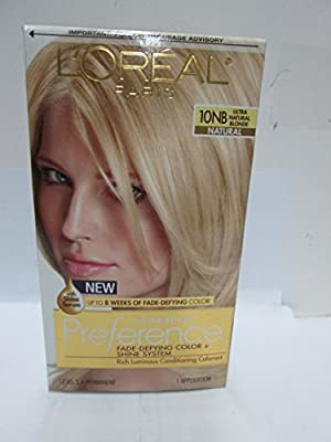L'Oreal Paris Superior Preference Fade-Defying + Shine Permanent Hair Color