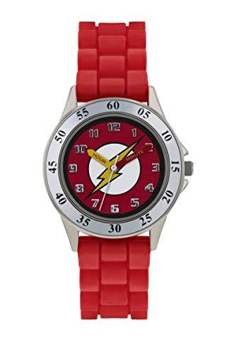 The Flash Reloj Analógico para Niños de Cuarzo con Correa en Caucho FLH9050