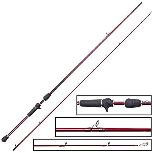 Westin W6 T&C Finesse-T ML 2,13m 5-15g Spinnrute zum Spinnfischen auf Barsche, Angelrute für Texas Rig & Carolina Rig, Barschrute