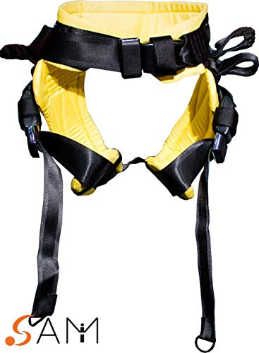 SAM Spotting Tumbling Belt - (Small, Yellow)