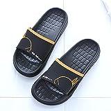 hawaianas mujer chanclas,Hombres y mujeres Pareja sandalias y zapatillas, antideslizantes de resolución gruesa, solida suave, resistente al desgaste, zapatillas a prueba de agua y secado rápido-40-41