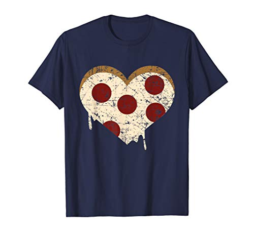 Pizza Heart, Funny Love Pizza Graphic Gift