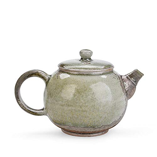 Tetera de porcelana de estilo japonés Tetera de leña de cerámica pintada a mano tetera casera de estilo japonés hecha a mano