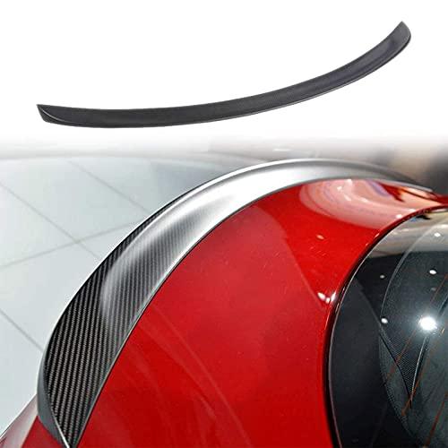GOUC Spoiler Ala Posteriore in Fibra di Carbonio per Valigia Adatta per Il Modello S 2014-2017, Kit Corpo Ala Posteriore