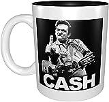 N\A Tazza da caffè per Chitarra Eddie Van Halen - Tazza da caffè Eddie Van Halen con Manico, Tazza da caffè Riutilizzabile in Ceramica isolata, Tazza da Viaggio per caffè