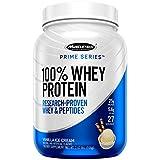 Whey Protein Powder | MuscleTech Prime Series 100% Whey Protein | Whey Protein Powder | Whey Protein Isolate + Peptides | Protein Powder for Women & Men | Vanilla Protein Powder, 2 lbs (27 Servings)