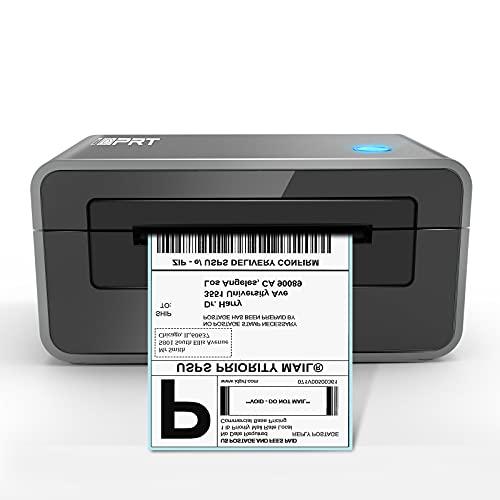 Impresora térmica de etiquetas iDPRT, impresora de etiquetas de envío de alta velocidad 4×6, soporte con Windows y Mac, fabricante de etiquetas para entrega y negocios, compatible con Shopify, Ebay, Amazon, PayPal, etc.