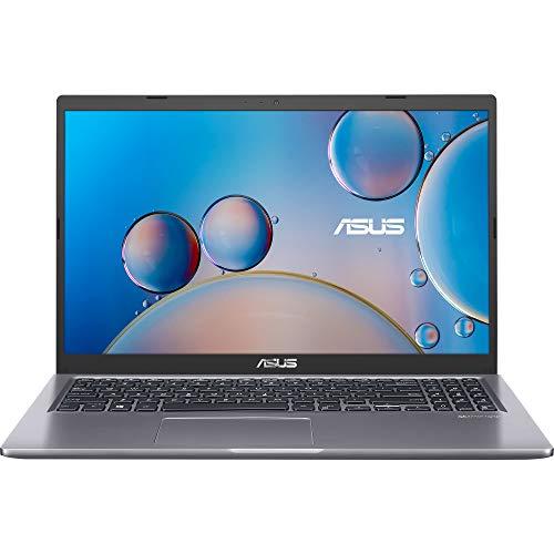 "ASUS D515UA-BQ244T - Portátil 15.6"" Full HD (Ryzen 5 5500U, 8GB RAM, 512GB SSD, Radeon Graphics, Windows 10 Home) Gris Pizarra - Teclado QWERTY español"
