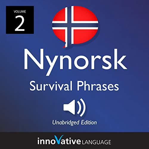 Learn Nynorsk: Nynorsk Survival Phrases audiobook cover art