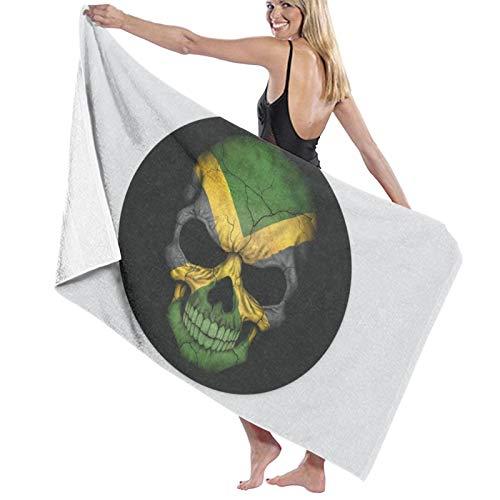 Toalla de baño de la bandera de Jamaica, toalla de baño suave absorbente toallas de mano toallas de invitados toallas de decoración de hombre mujer
