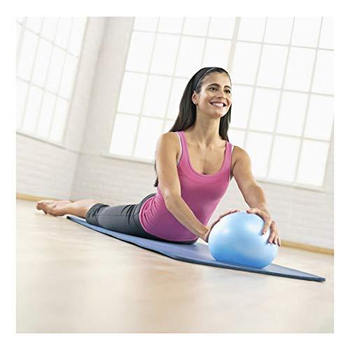 25cm Exercxise Ball Mini Yoga Ball Pilates Fitness Training Anti-Slip Sport Fitball, Blue