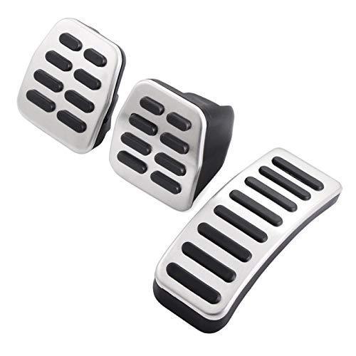 JXSMQC Autokupplungsbremse Fußpedalabdeckung Innenzubehör.Für VW Bora Golf MK3...