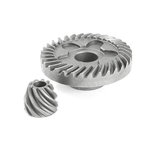 ZOZOSEP Amoladoras angulares-6-100 Juego de piñones de Engranajes cónicos en Espiral para Piezas de reparación para Bosch