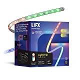LIFX Lightstrip, 6.6' Starter Kit, Wi-Fi Smart LED Light Strip, Full Color with Polychrome Technology, No Bridge Required, Works with Alexa, Hey Google, HomeKit and Siri