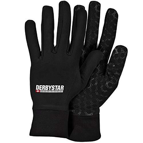 Derbystar Kinder Hyper Spielerhandschuh Handschuh, schwarz, 7