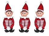 Elves Behavin' Badly 12 pulgadas largo pierna cuerpo suave vinilo cara elfo con sombrero y etiqueta (30,5 cm)