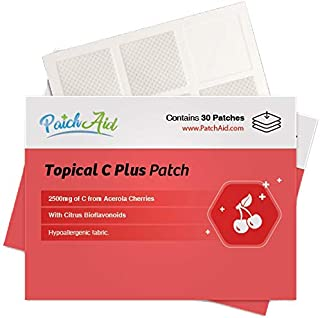 C Plus Topical Patch by PatchAid (1-Month Supply)