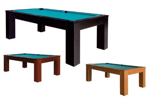 Trento, doméstica–Mesa de billar, 8ft. con plancha de pizarra, varios colores, negro, 254 x 142 x 81 c