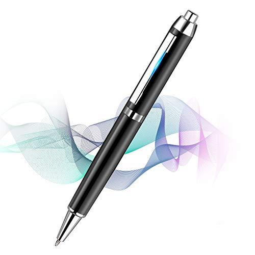 innislink Diktiergerät Digitales, 16GB Voice Recorder Pen mit MP3 U Disk Kugelschreiber Stift, Wiederaufladbar Tragbarer aufnahmegerät Mini Audio Recorder Sprachrekorder für Meetings Interview Lernen