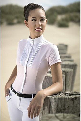HKM Polo de Concours Soft Powder Blanc M