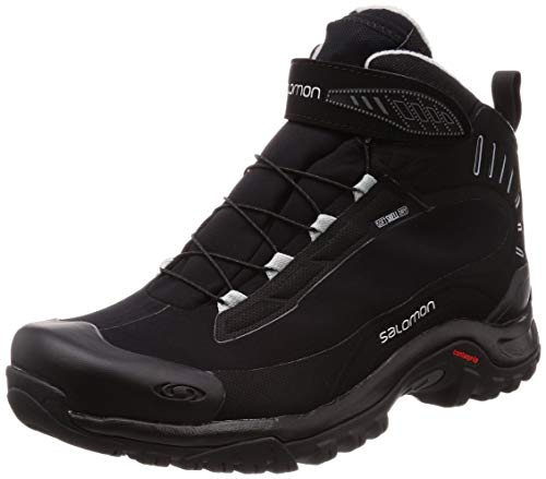 Salomon Chaussures Deemax 3 TS WP, Black/Black/Alloy, 41.3333333333333