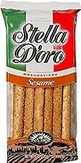Stella Doro Breadsticks Sesame 16 Oz. Pack Of 3.