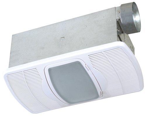 Air King AK55L 70CFM Bathroom Heater, Exhaust Fan, Light Combination